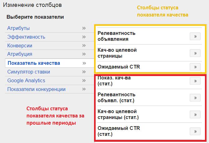 Показатель качества в google adwords маркетинг сайта что это