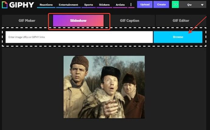 Гиф-маркетинг – slideshow