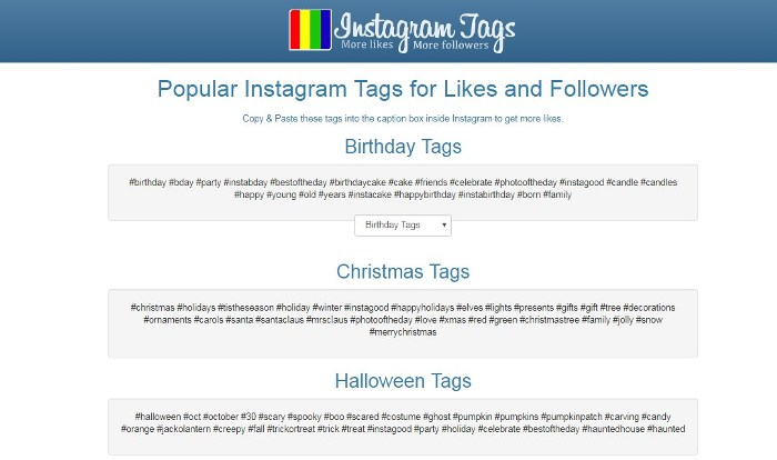 Хештеги в Instagram – сервис instagram tags