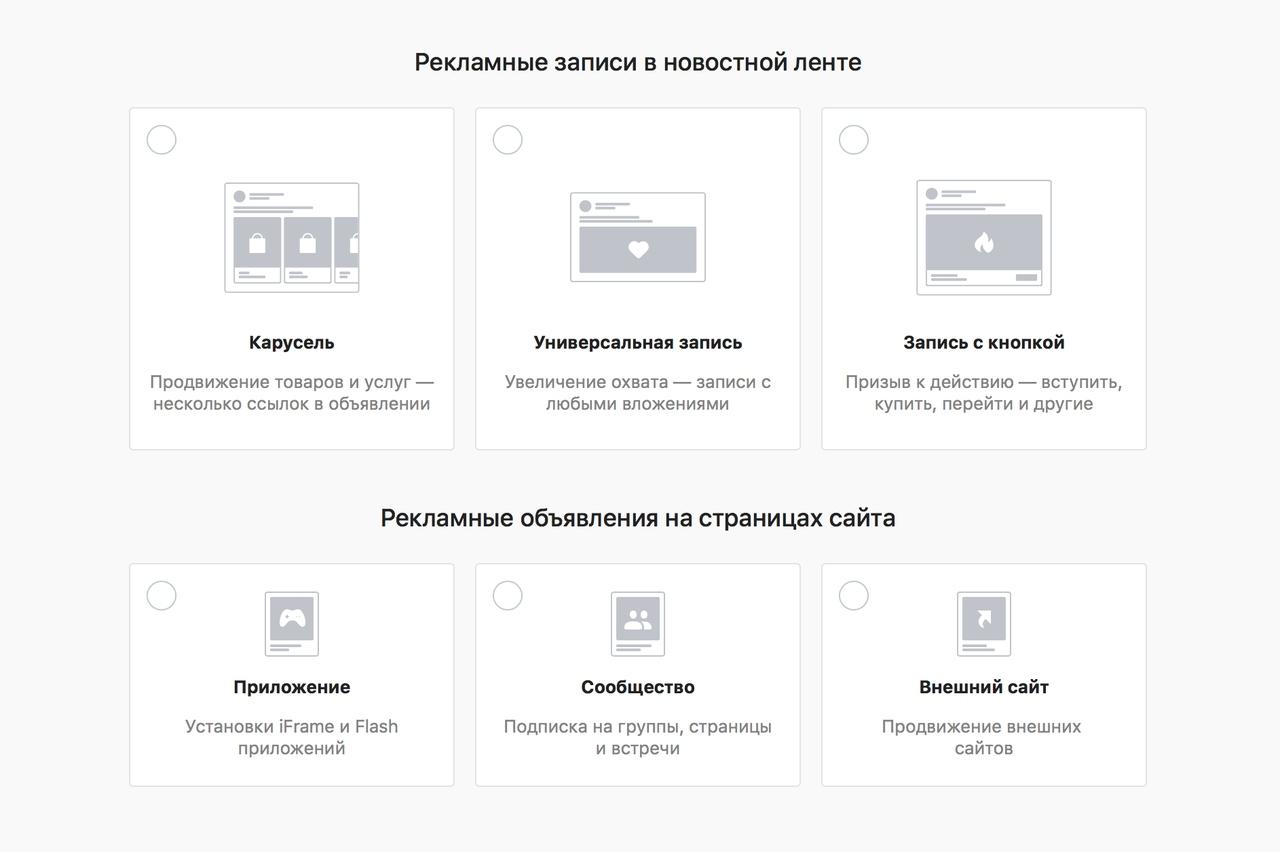 Гиперлокальный таргетинг – форматы рекламы в ВК