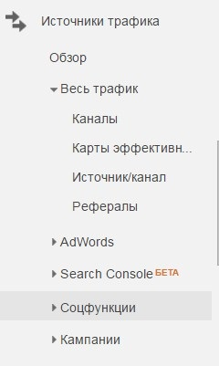 Привязка Google Analytics к другим инструментам