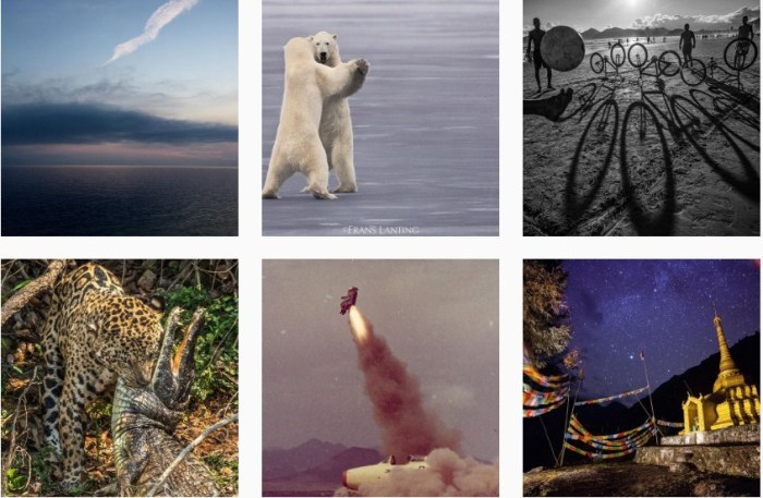 Продвижение в Instagram 2,2 National Geographic