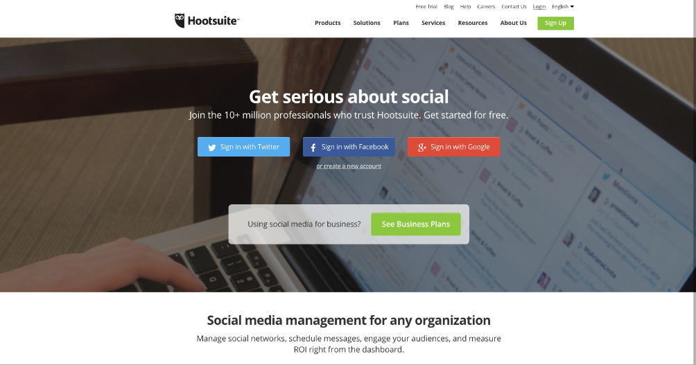 Value proposition на примере HootSuite